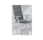 Krzesła ogrodowe aluminiowe