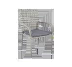 Krzesła ogrodowe technorattanowe