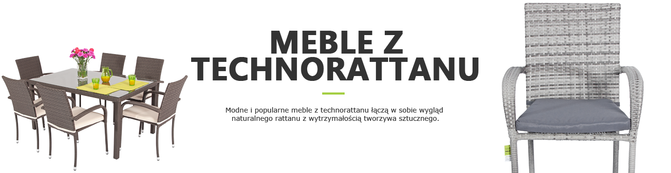 meble z technorattanu