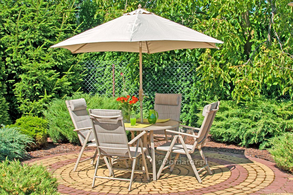 zestaw mebli ogrodowych z parasolem porto sklep