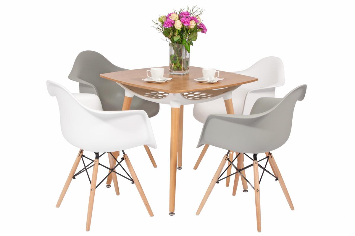 zestaw mebli do jadalni florencja st i 4 krzes a br zowy sklep internetowy. Black Bedroom Furniture Sets. Home Design Ideas